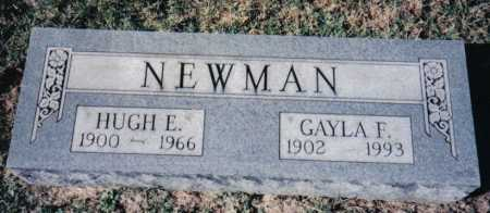 NEWMAN, HUGH E. - Adams County, Ohio | HUGH E. NEWMAN - Ohio Gravestone Photos