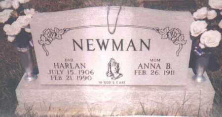NEWMAN, HARLAN - Adams County, Ohio   HARLAN NEWMAN - Ohio Gravestone Photos