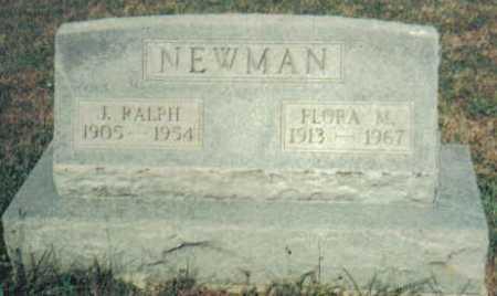 NEWMAN, FLORA M. - Adams County, Ohio | FLORA M. NEWMAN - Ohio Gravestone Photos