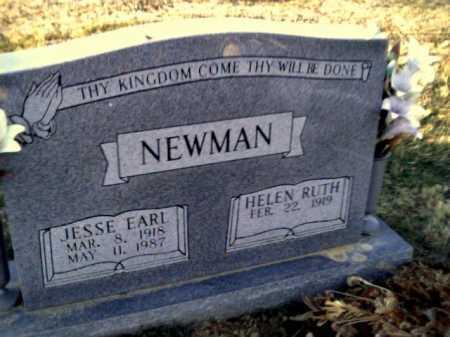 NEWMAN, JESSE EARL - Adams County, Ohio | JESSE EARL NEWMAN - Ohio Gravestone Photos
