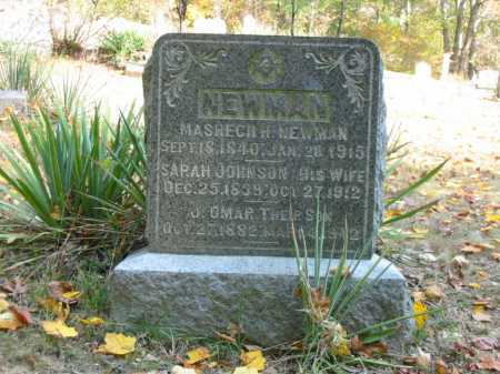 NEWMAN, JAMES OMAR - Adams County, Ohio | JAMES OMAR NEWMAN - Ohio Gravestone Photos