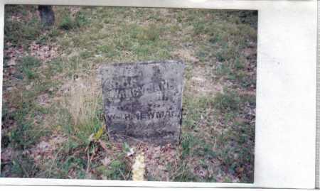 NEWMAN, NANCY JANE - Adams County, Ohio | NANCY JANE NEWMAN - Ohio Gravestone Photos