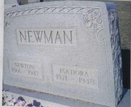NEWMAN, NEWTON - Adams County, Ohio | NEWTON NEWMAN - Ohio Gravestone Photos