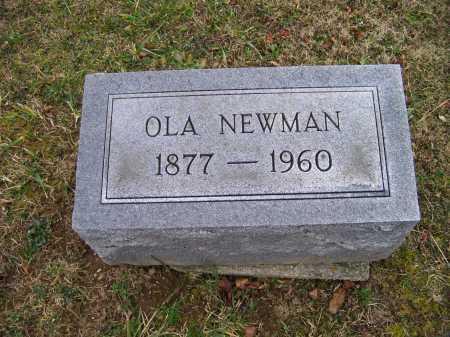 NEWMAN, OLA - Adams County, Ohio | OLA NEWMAN - Ohio Gravestone Photos