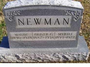 NEWMAN, OLIVER G. - Adams County, Ohio | OLIVER G. NEWMAN - Ohio Gravestone Photos