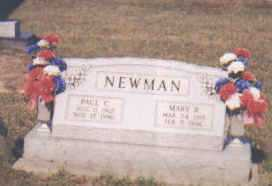 NEWMAN, MARY - Adams County, Ohio | MARY NEWMAN - Ohio Gravestone Photos