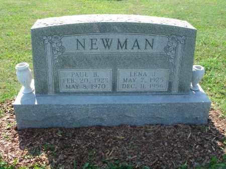 NEWMAN, LENA J. - Adams County, Ohio | LENA J. NEWMAN - Ohio Gravestone Photos