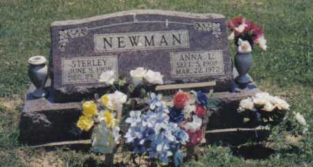 SMALLEY NEWMAN, ANNA L. - Adams County, Ohio | ANNA L. SMALLEY NEWMAN - Ohio Gravestone Photos