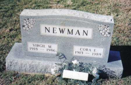 NEWMAN, CORA E. - Adams County, Ohio | CORA E. NEWMAN - Ohio Gravestone Photos
