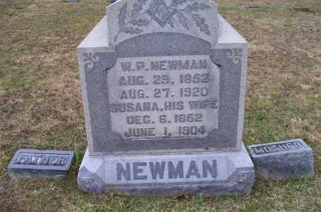 NEWMAN, SUSANA - Adams County, Ohio | SUSANA NEWMAN - Ohio Gravestone Photos