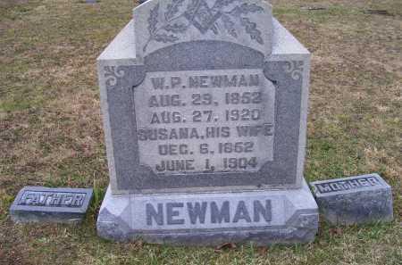 THOMPSON NEWMAN, SUSANA - Adams County, Ohio | SUSANA THOMPSON NEWMAN - Ohio Gravestone Photos