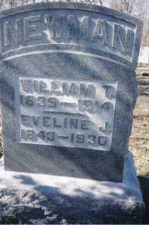 NEWMAN, WILLIAM T. - Adams County, Ohio | WILLIAM T. NEWMAN - Ohio Gravestone Photos