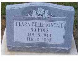 KINCAID NICHOLS, CLARA BELLE - Adams County, Ohio | CLARA BELLE KINCAID NICHOLS - Ohio Gravestone Photos
