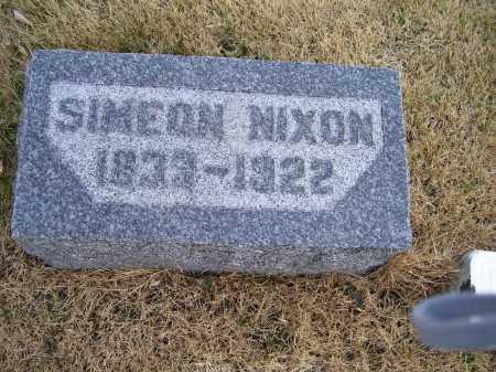 NIXON, SIMEON - Adams County, Ohio | SIMEON NIXON - Ohio Gravestone Photos