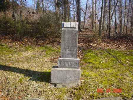 O'BRIANT, REBECCA - Adams County, Ohio | REBECCA O'BRIANT - Ohio Gravestone Photos