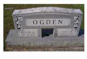 OGDEN, CLEO M. - Adams County, Ohio | CLEO M. OGDEN - Ohio Gravestone Photos