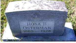OSTERMAN, ROSA B. - Adams County, Ohio | ROSA B. OSTERMAN - Ohio Gravestone Photos