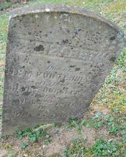 PUNTENNEY OURSLER, ELIZABETH - Adams County, Ohio | ELIZABETH PUNTENNEY OURSLER - Ohio Gravestone Photos
