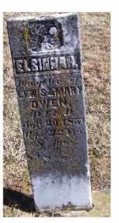 OWEN, ELSINNAH - Adams County, Ohio   ELSINNAH OWEN - Ohio Gravestone Photos