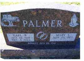 PALMER, EARL R. - Adams County, Ohio | EARL R. PALMER - Ohio Gravestone Photos
