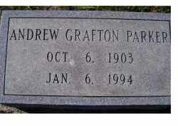 PARKER, ANDREW GRAFTON - Adams County, Ohio   ANDREW GRAFTON PARKER - Ohio Gravestone Photos