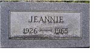 PARKER, JEANNIE - Adams County, Ohio | JEANNIE PARKER - Ohio Gravestone Photos