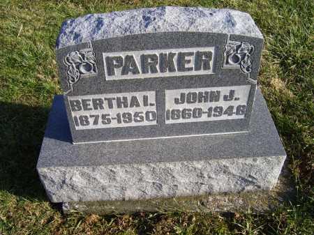 PARKER, BERTHA I. - Adams County, Ohio | BERTHA I. PARKER - Ohio Gravestone Photos