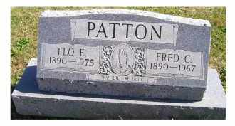 PATTON, FLO E. - Adams County, Ohio | FLO E. PATTON - Ohio Gravestone Photos