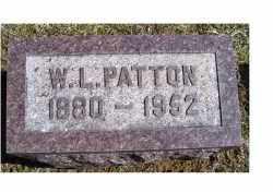 PATTON, W. L. - Adams County, Ohio   W. L. PATTON - Ohio Gravestone Photos