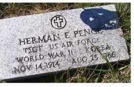 PENCE, HERMAN E. - Adams County, Ohio | HERMAN E. PENCE - Ohio Gravestone Photos