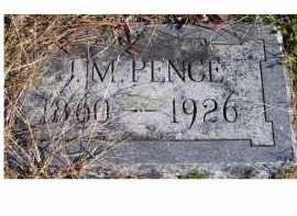 PENCE, J. M. - Adams County, Ohio   J. M. PENCE - Ohio Gravestone Photos