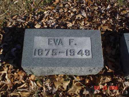 PENN, EVA F. - Adams County, Ohio   EVA F. PENN - Ohio Gravestone Photos