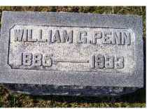 PENN, WILLIAM G. - Adams County, Ohio   WILLIAM G. PENN - Ohio Gravestone Photos