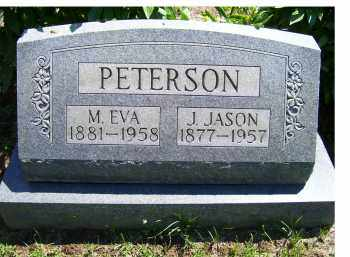 PETERSON, J. JASON - Adams County, Ohio | J. JASON PETERSON - Ohio Gravestone Photos