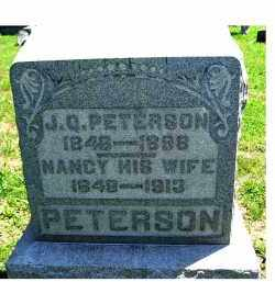 PETERSON, NANCY - Adams County, Ohio | NANCY PETERSON - Ohio Gravestone Photos