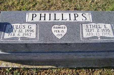 PHILLIPS, ETHEL E. - Adams County, Ohio | ETHEL E. PHILLIPS - Ohio Gravestone Photos