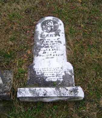 PHILLIPS, MARY - Adams County, Ohio   MARY PHILLIPS - Ohio Gravestone Photos