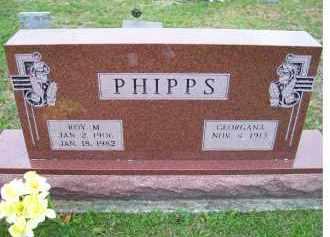 PHIPPS, GEORGANA - Adams County, Ohio   GEORGANA PHIPPS - Ohio Gravestone Photos