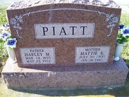 PIATT, HARLEY M. - Adams County, Ohio | HARLEY M. PIATT - Ohio Gravestone Photos