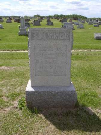 PLUMMER, RACHEL J - Adams County, Ohio | RACHEL J PLUMMER - Ohio Gravestone Photos