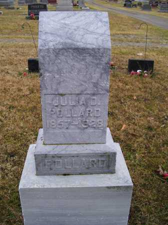 POLLARD, JULIA D. - Adams County, Ohio   JULIA D. POLLARD - Ohio Gravestone Photos
