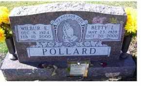 POLLARD, WILBUR E. - Adams County, Ohio | WILBUR E. POLLARD - Ohio Gravestone Photos