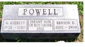 POWELL, A. EVERETT - Adams County, Ohio | A. EVERETT POWELL - Ohio Gravestone Photos