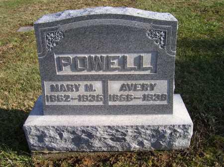 POWELL, AVERY - Adams County, Ohio | AVERY POWELL - Ohio Gravestone Photos