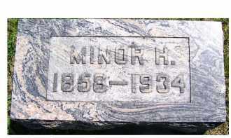 POWELL, MINOR H. - Adams County, Ohio | MINOR H. POWELL - Ohio Gravestone Photos