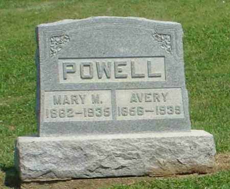 POWELL, AVERY - Adams County, Ohio | AVERY POWELL - Ohio Gravestone Photos