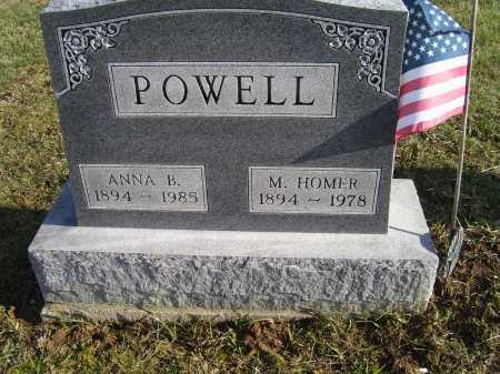 POWELL, ANNA B. - Adams County, Ohio | ANNA B. POWELL - Ohio Gravestone Photos