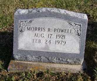 POWELL, MORRIS R. - Adams County, Ohio   MORRIS R. POWELL - Ohio Gravestone Photos