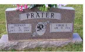 PRATER, VIRGIE E. - Adams County, Ohio | VIRGIE E. PRATER - Ohio Gravestone Photos