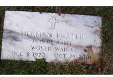 PRATER, HERMAN - Adams County, Ohio | HERMAN PRATER - Ohio Gravestone Photos